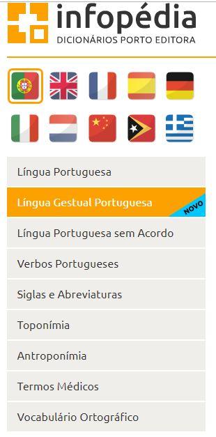 Dicionários da Infopédia